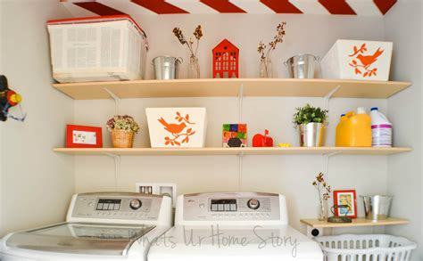 Simple Diy Wall Shelves For The Laundry Room Whats Ur Laundry Room Wall Shelves