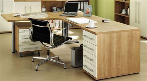 Neu B 252 Ro Schreibtisch Kombi Noce Elfenbein 4tlg Set Ebay