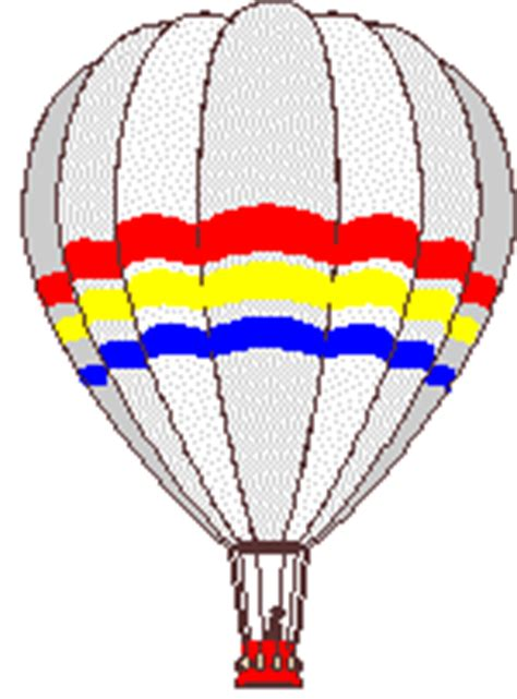 balon udara gif gambar animasi animasi bergerak