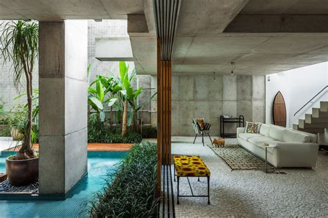 Sao Paulo Home 9 gallery of weekend house in downtown s 227 o paulo spbr arquitetos 33