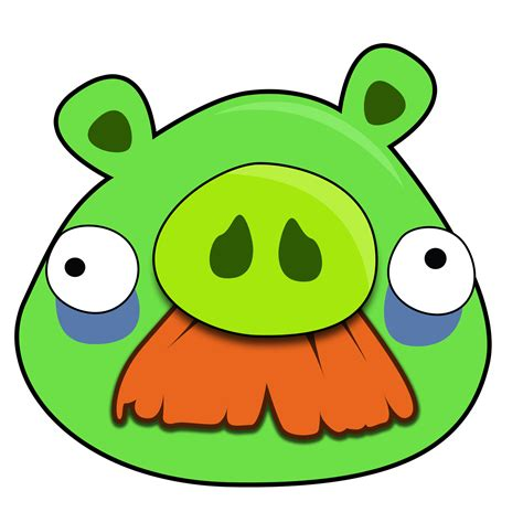 angry bird pig template mustache pig bad piggies posts pigs and