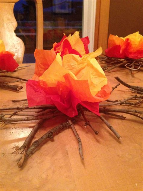 How To Make Flames Out Of Tissue Paper - best 25 cfire ideas on