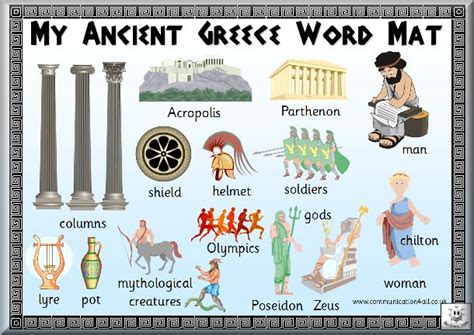 Information About Mat by Free Printable Ancient Greece Word Mat Ancient Greece For Greece Classroom
