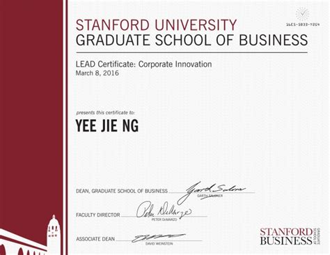 Yelp Product Manager Mba Graduate by Lead Certificate Corporate Innovation