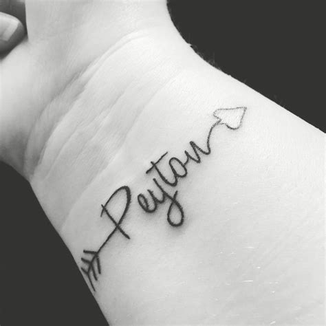 tattoo name with arrow the 25 best baby name tattoos ideas on pinterest kid