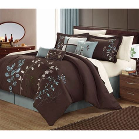 brown bedding sets 17 best ideas about modern comforter sets on