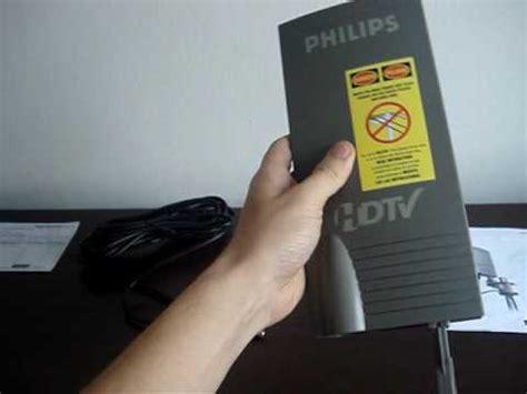 antena philips amplificada db sdv amplified indooroutdoor  tv digital uhf hdtv