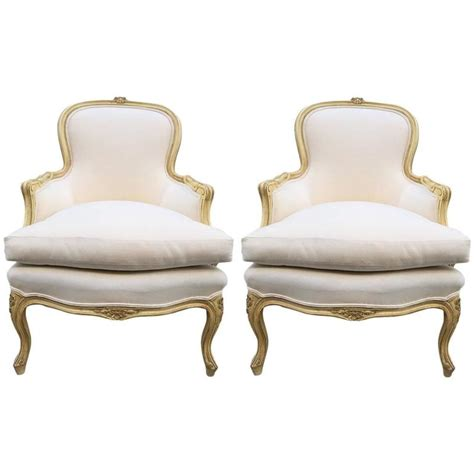 bergere dining chairs pair of louis xv style bergere chairs for sale at