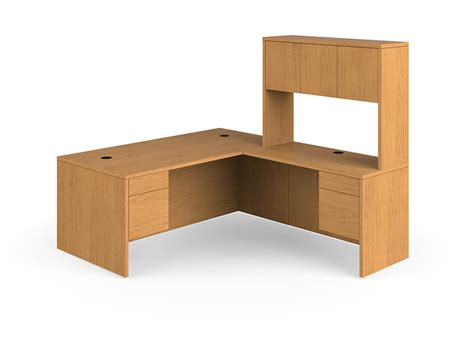 L Shaped Desk And Hutch Hon 10500 Series L Shaped Desk And Hutch