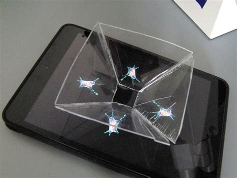 smartphone 3d hologram projector minions how to make watch the living cell in a homemade 3d hologram projector
