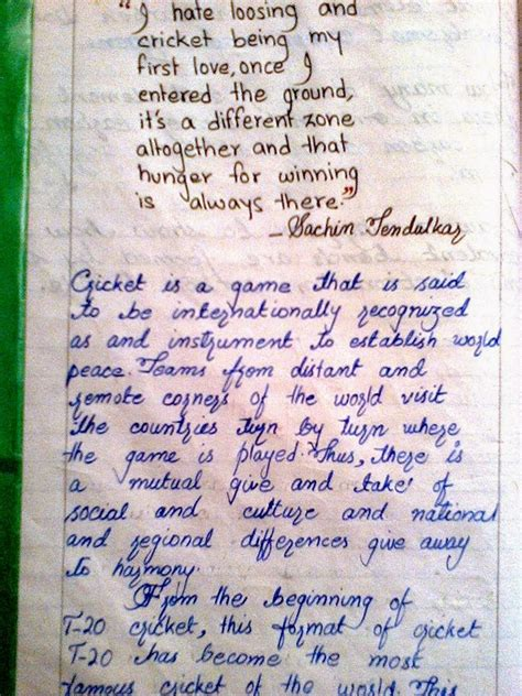 A Cricket Match Essay In by Essay On Cricket Match For Order Paper