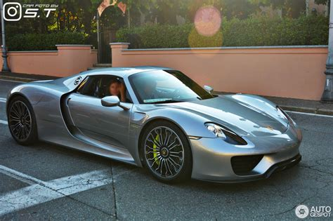 918 Spyder Porsche by Porsche 918 Spyder 11 June 2017 Autogespot
