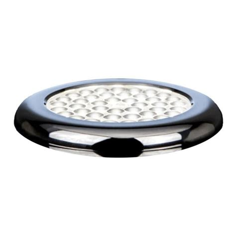 macleds led cabinet hardwired low profile puck light
