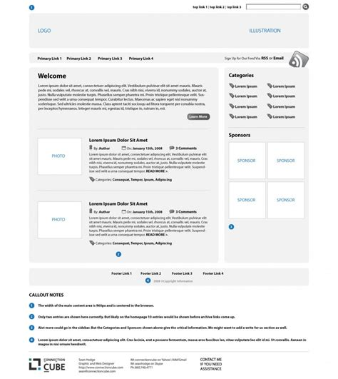 illustrator tutorial wireframe web design complete guide tutorials