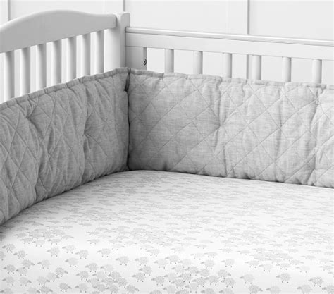 Belgian Linen Bedding Sets Belgian Linen Nursery Bedding Sets Pottery Barn
