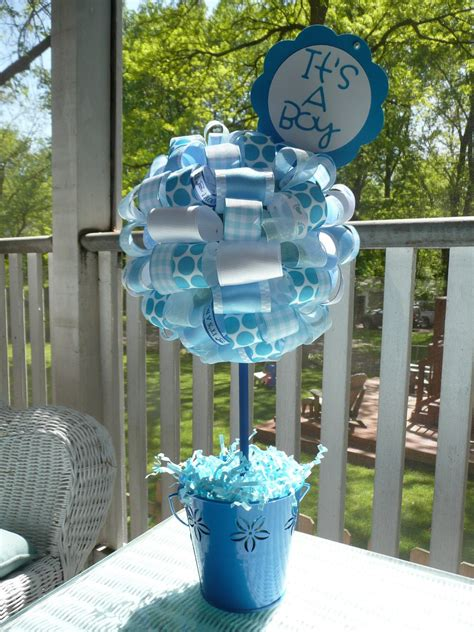 Boy Baby Shower Centerpieces For Tables by Blue Baby Shower Decorations Best Baby Decoration