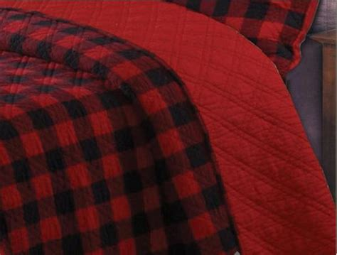 remodelaholic affordable plaid and buffalo check home western red buffalo check plaid quilt set
