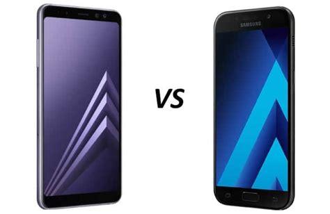 Samsung A8 Feb 2018 vergelijking samsung galaxy a8 2018 versus galaxy a5 2017