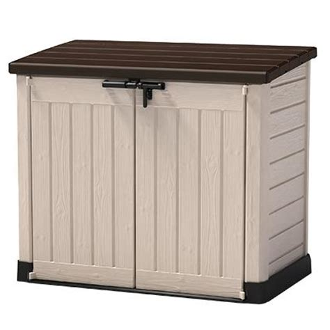 Kettler Combi Set Grey Beige by Keter Opbergbox Tuin Store It Out Max Beige Bruin 146 X