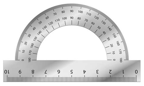 printable army protractor protractor clipart clipground