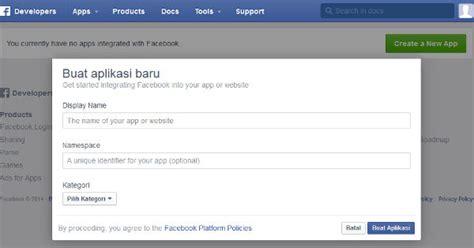 aplikasi untuk membuat toko online membuat dan mengkonfigurasi aplikasi facebook indostore