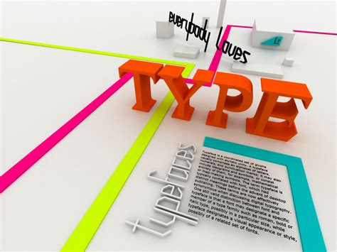 typography design absolutely stunning 3d typography