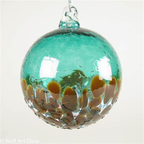 glass blown christmas ornaments