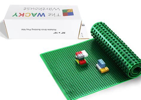 Lego Baseplate 29 2pcs large green compatible baseplate the wacky warehouse