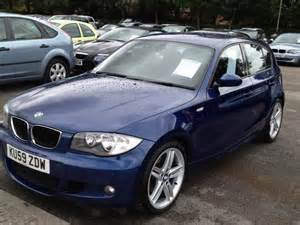 Bmw 1 Series M For Sale Used Bmw 1 Series 2009 Manual Diesel 118d M Sport Blue For
