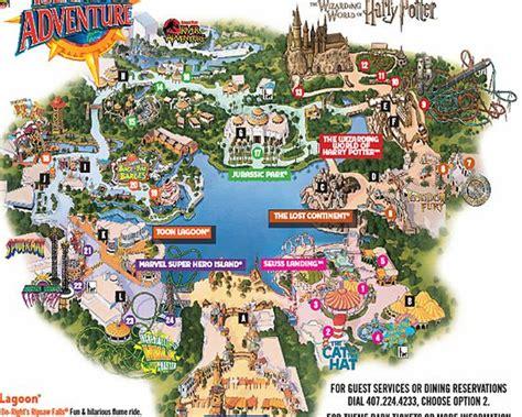 islands of adventure map universal studio s islands of adventure islands studios and universal studios