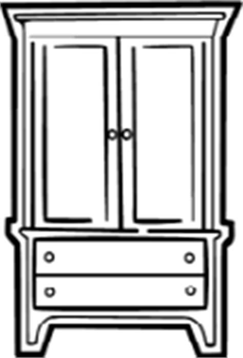 Dresser And Armoire Vector Art Clip Art Armoire Clipart Panda Free