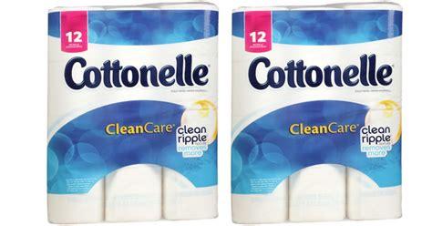 Who Makes Cottonelle Toilet Paper - walgreens cottonelle 12 big rolls bath tissue 2 49