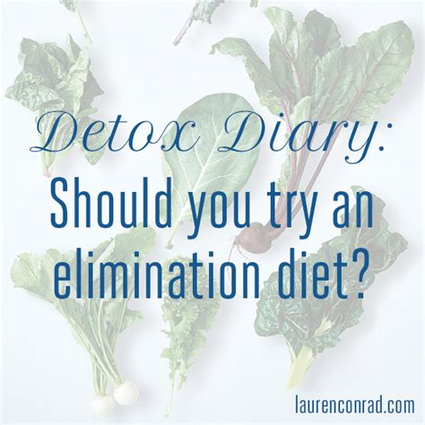 Detox Elimination Diet by Detox Diary Should You Try An Elimination Diet