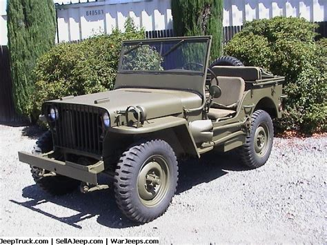 army surplus jeeps for sale