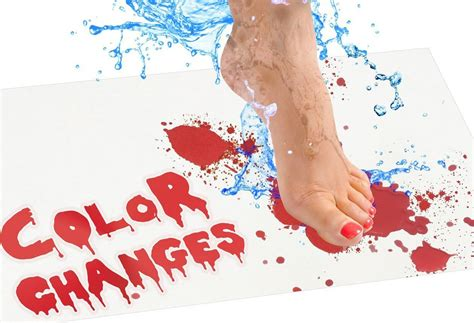 bloody bath mat magically  water   blood spatter   obsessed   bgr