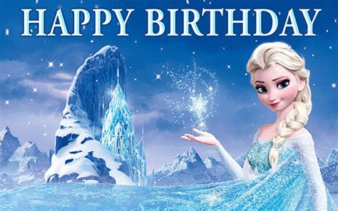 wallpaper frozen happy birthday disney frozen birthday banner elsa and castle