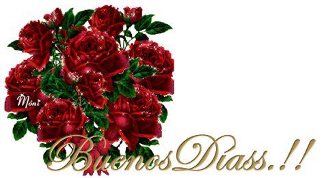 imagenes de buenos dias con rosas buenos d 237 as a ti gifs ramo de rosas