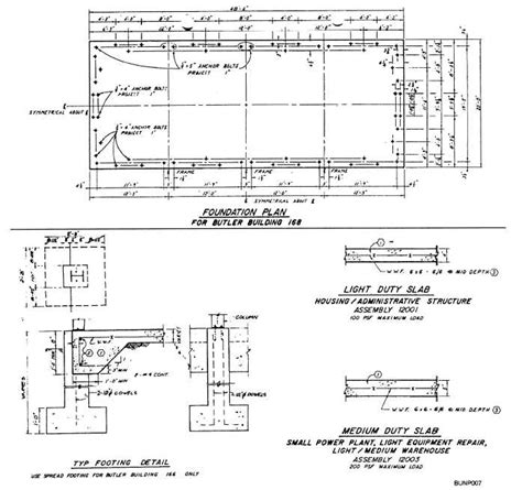 House Plan Builder by Figure 2 7 Foundation Plan With Detail Drawings