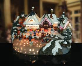 christmas village lighted musical animated buy