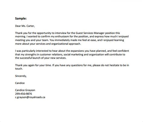 thank you letter business format sle business thank you letter sle contract business