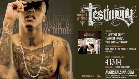 kissin on my tattoos august alsina kissin on my tattoos hiphop n more
