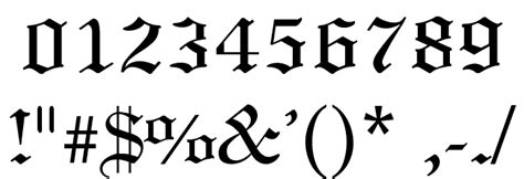 printable old english numbers 4 best images of old english numbers printable old