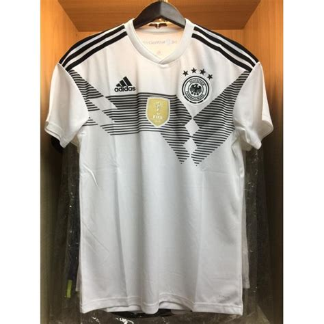 Jersey Germany Home New World Cup 2018 Grade Ori adidas climalite germany home world cup 2018 2017 19 stadium jersey