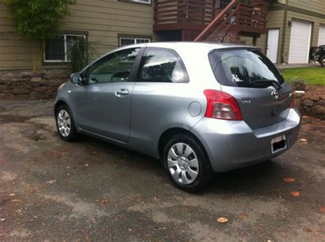 Bothell Toyota Specialists Sell Used 2007 Toyota Yaris Base Hatchback 2 Door 1 5l In