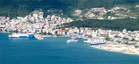 porto della grecia porto di igoumenitsa grecia