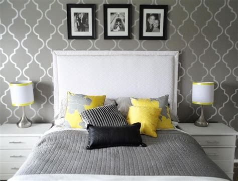 yellow and grey bedroom fresh bedrooms decor ideas
