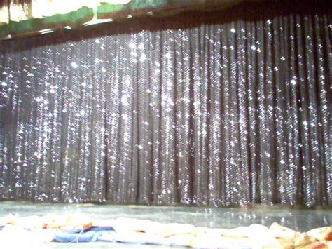 sparkly curtains gateway set rentals