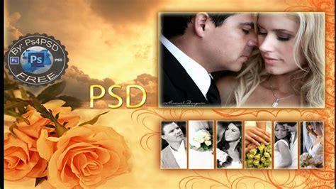 free wedding layout photoshop photoshop templates psd for wedding invitation vol 2