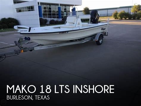 18 foot mako boats for sale mako 18 boat for sale in burleson tx for 18 500 pop