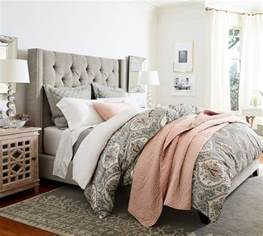 tall tufted headboards save 20 on pottery barn upholstered beds sale to glam up